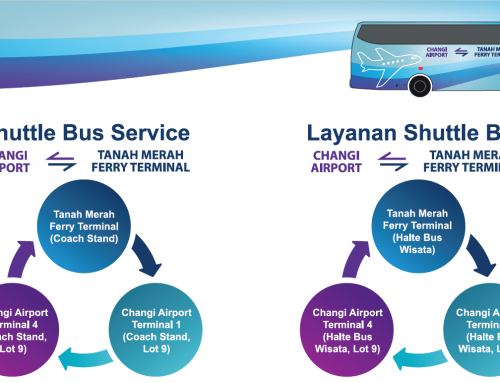 (Updated) Shuttle Service from Changi Airport to Tanah Merah Ferry Terminal